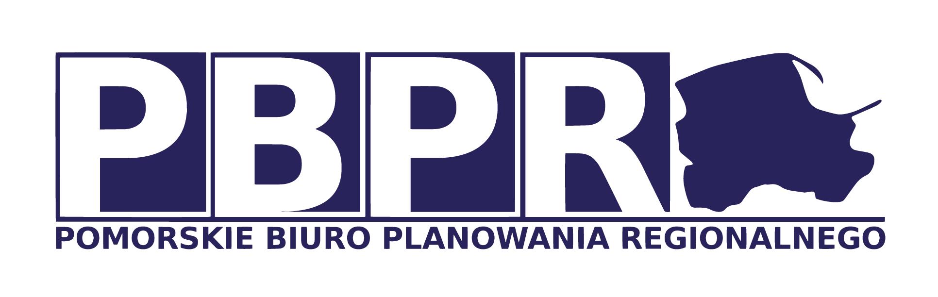 Logo Pomorskiego Biura Planowania Regionalnego