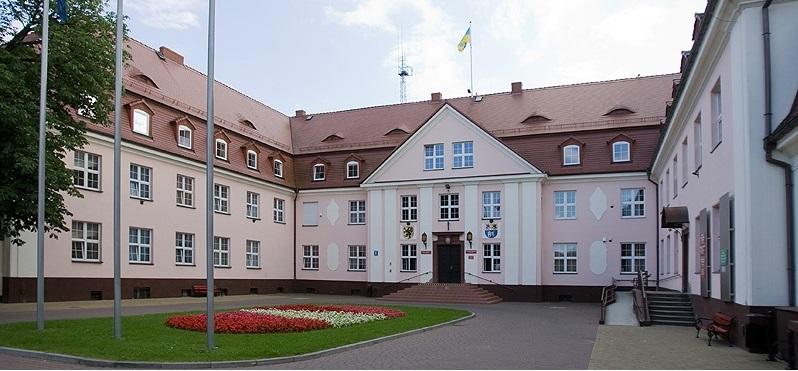 Budynek Starostwa Powiatowego w Lęborku.