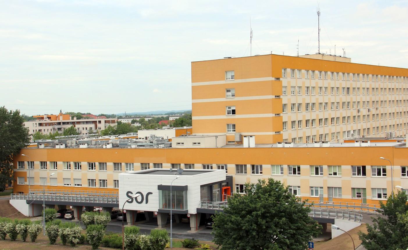 Zdjęcie szpitala.