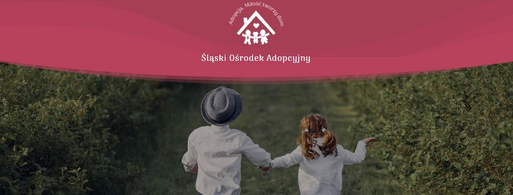 Baner Śląskiego Ośrodka Adopcyjnego