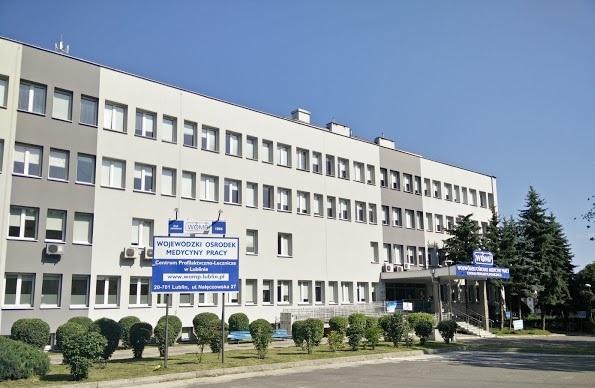 Budynek Wojewódzkiego Ośrodka Medycyny Pracy Centrum Profilaktyczno-Leczniczego w Lublinie