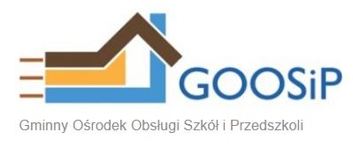 Logo Gminnego Ośrodka Obsługi Szkół i Przedszkoli w Skarszewach