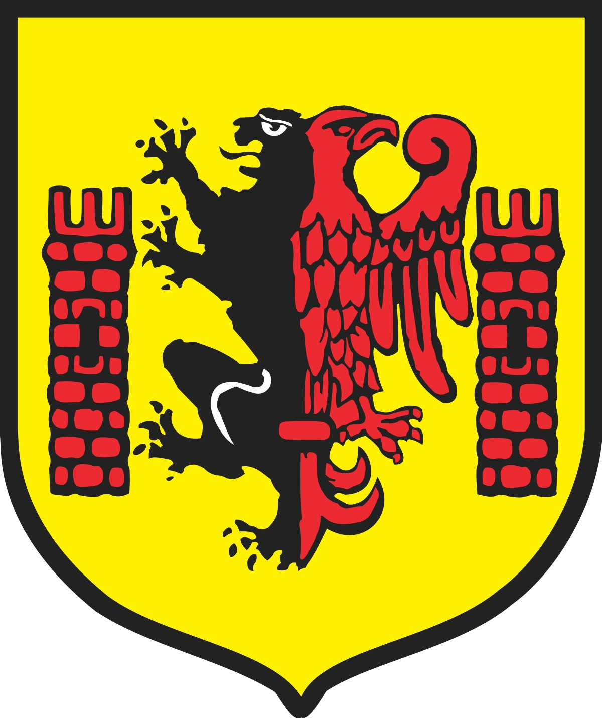 Logo i herb Rypina.