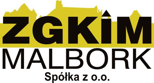 Logo Zakładu Gospodarki Komunalnej i Mieszkaniowej w Malborku Sp. z o.o.