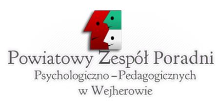 Logo Powiatowego Zespołu Poradni Psychologiczno-Pedagogicznych w Wejherowie