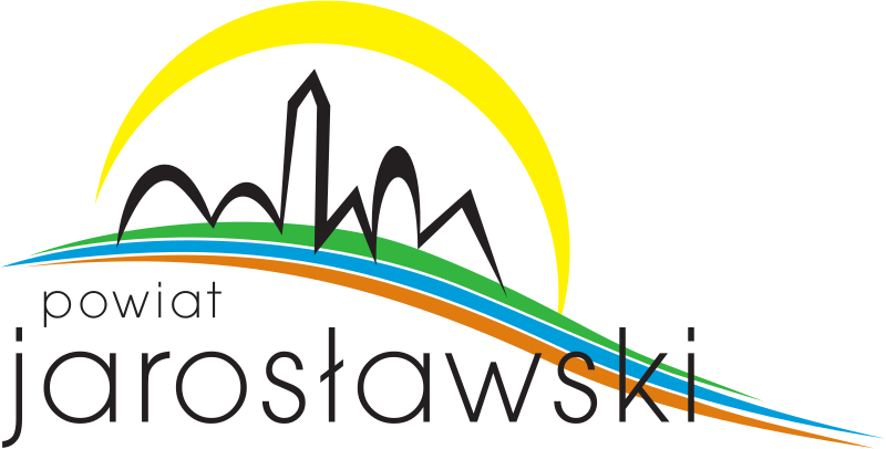 Jego graficzna część to trzy wstęgi, nawiązujące do charakterystycznych elementów krajobrazu powiatu (zielona - lasy, niebieska - rzeka San oraz w mniejszym stopniu Szkło, Wisznia i Lubaczówka, brązowa - pola uprawne, stanowiące większą część powiatu). Na nich symbolicznie zostały zaznaczone m.in. zabytki (kościelna wieża) i wzgórza charakterystyczne dla południowej części powiatu, zwieńczone optymistycznym symbolem słońca.