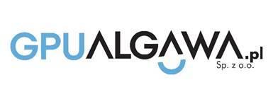 Logo Gminnego Przedsiębiorstwa Usługowego Algawa Sp. z o.o.