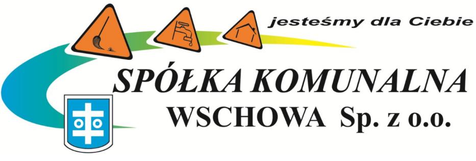 Logo Spółki Komunalnej Wschowa Sp. z o.o.