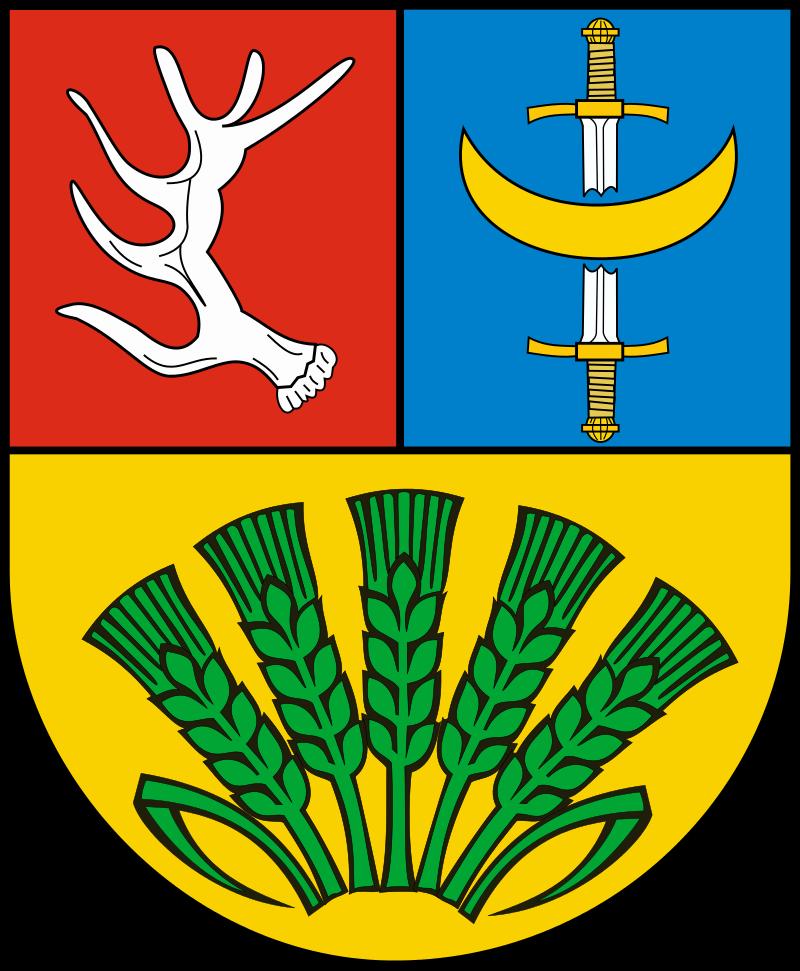 Obrazek przedstawia herb Gminy Troszyn.