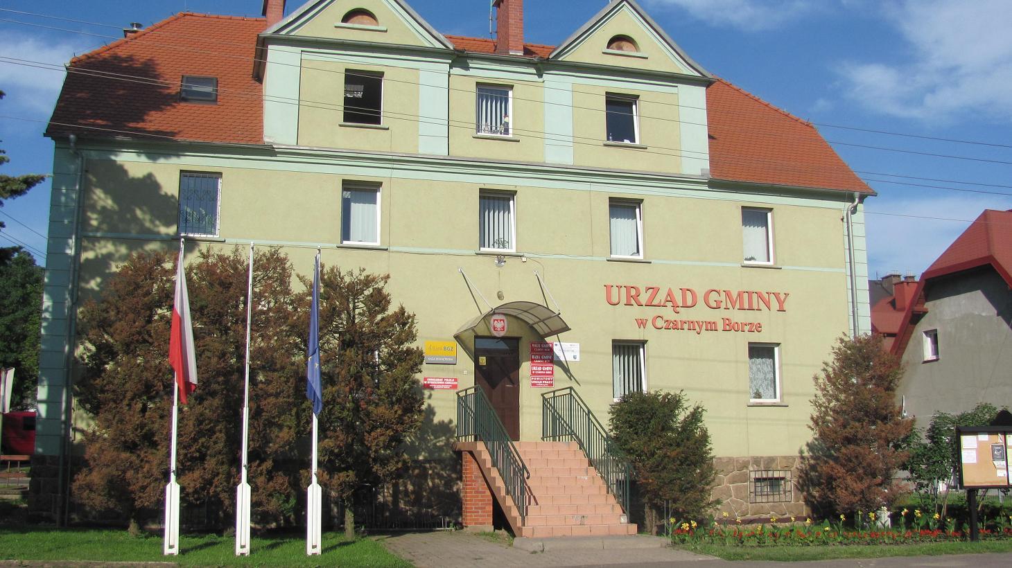 Budynek Urzędu Gminy Czarny Bór