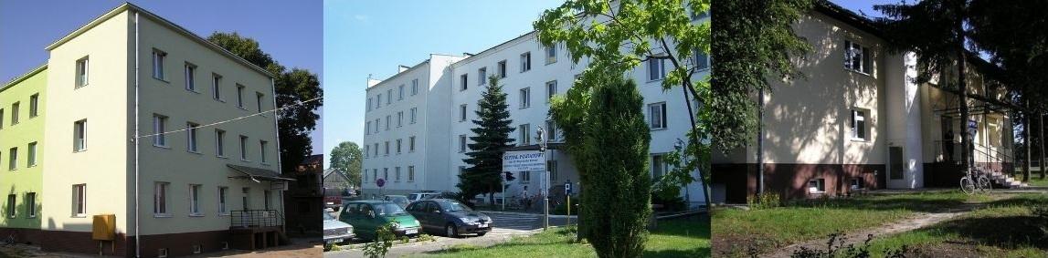 Kolaż zdjęć Samodzielnego Publicznego Zakładu Opieki Zdrowotnej Nr 1 w Bełżycach
