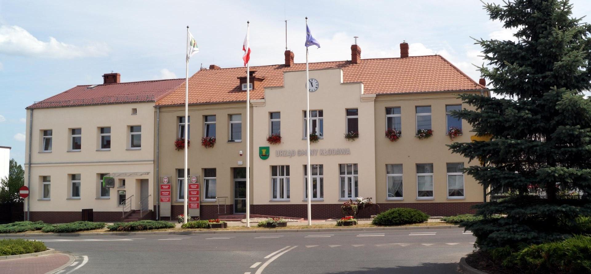 Budynek urzędu Gminy Kłodawa
