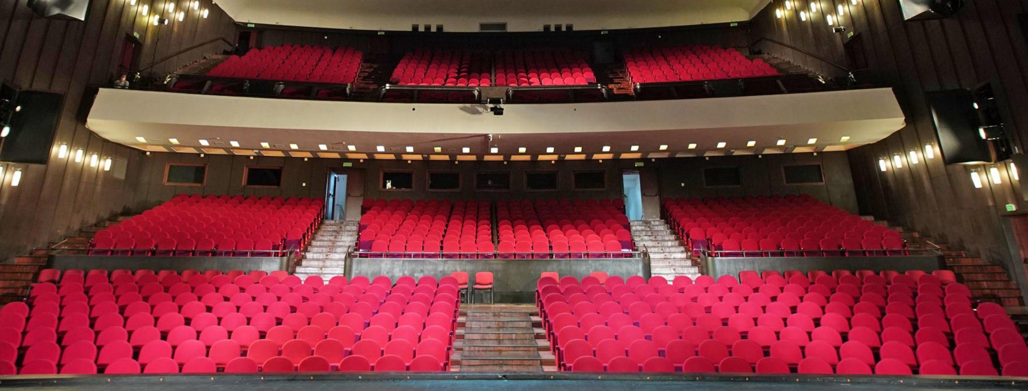 Sala widowiskowa Teatru Wielkiego w Łodzi